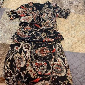 Jones Wear 2 piece skirt set
